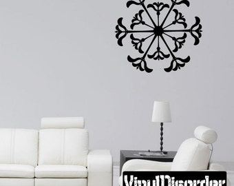 Snowflakes Vinyl Wall Decal Or Car Sticker - Mv018ET