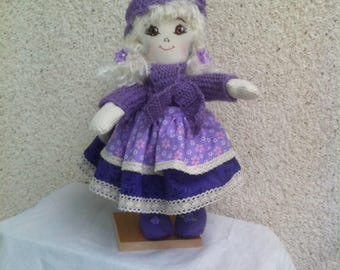 Completely hand-made doll