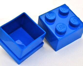 LEGO ® Box Cufflink Storage - BLUE
