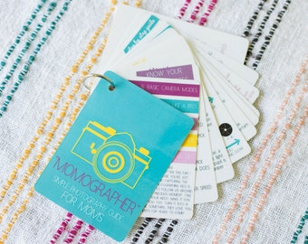 Photography Tips Flashcards -  How to set your camera like a pro