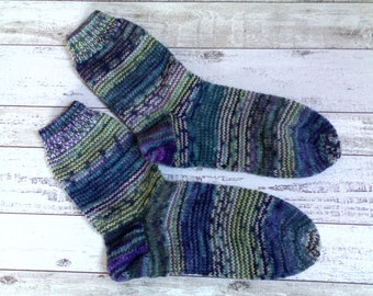 Unique socks hand Knitted size 40/41