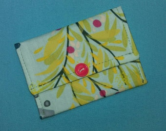 Small Wallet Business Card Wallet Gift Card Holder Pastels