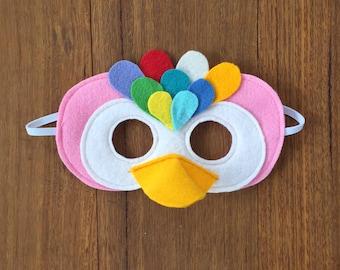Parrot / Tropical Bird Mask