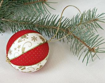 Christmas ball ornament traditional christmas decorations Xmas red white gold Christmas gift nursery holiday tree decor christmas baubles