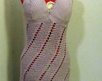 V-Neck, Twirl Dress