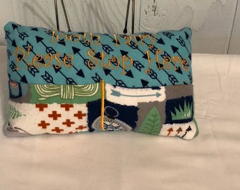 Camping Tooth Fairy Pillow