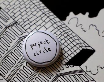 perfect circle badge