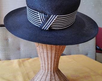 Lilly Daché Straw Hat