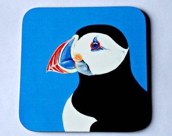Puffin Coaster - single