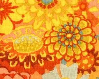 1/2 yard Kaffe Fassett Asian Circles Orange GP89 fabric