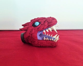 Monster Hunter Odogaron Magnet, Original Handmade Polymer Clay