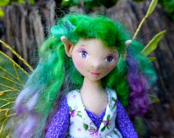 Kaylee - An OOAK Cloth Fairy Art Doll