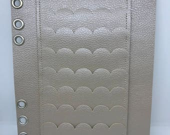 A5 Made To Order Six Ring Planner Wallet