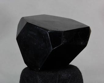 Black Tourmaline, Schorl, Polished standing Freeform