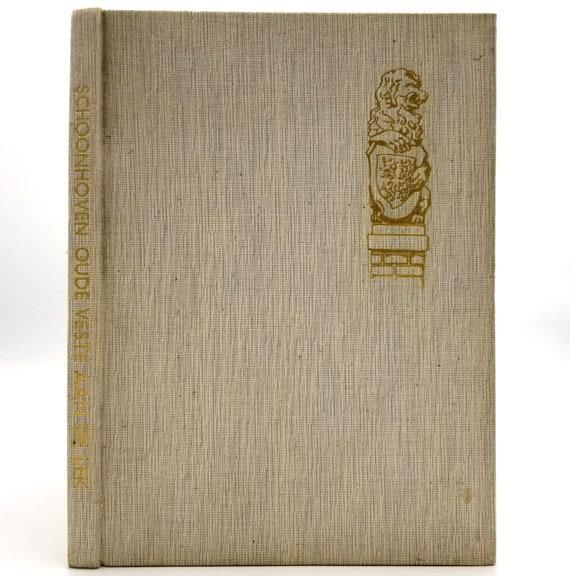Schoonhoven: trots op sijn verleden; bouwt aan zijn toekomst 1963 Hardcover HC - Netherlands History Travel Tourism