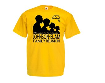 Family reunion shirt etsy for Printed t shirts for family reunion