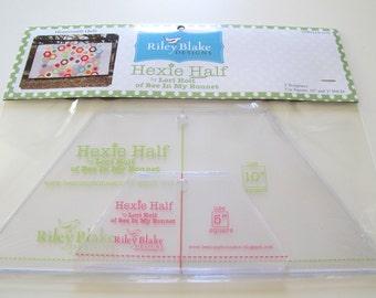 Hexie Half Ruler/Templates