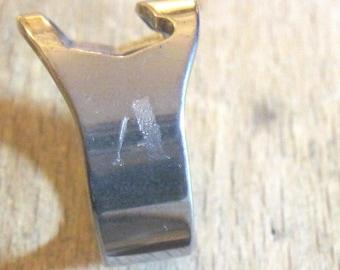 Personalized Beer Bottle Opener Ring - Men, Women, Custom, Engraved