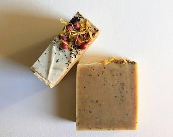 Cozy: Orange Cedarwood Bar Soap