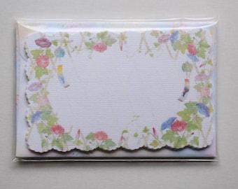 Flower Mini Card Set | Floral Mini Card Set  - 8 mini cards - 4 mini envelopes - 8744