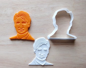 Justin Trudeau Cookie Cutter and Stamp Set. Canada Cookie Cutter. 3D Printed. Baking Gifts. Custom Cookies.