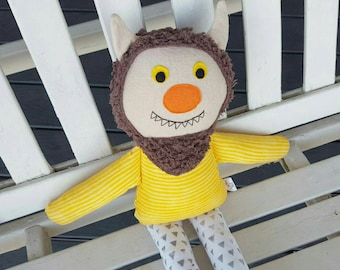 Monster Plush/Where the Wild Things Are/Doll/Boy/Softie