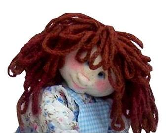 Lottie cloth doll sewing pattern (digital download)