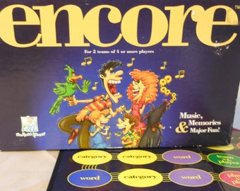 Encore: Music, Memories & Major Fun!  Endless Games. 1997