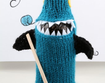 San Jose Sharks, Bottlenose Sharks, Geeky, Gift for Teacher, Gift for Student, Friends, Gift for Boyfriend, Beer Cozy, Sport Drink, Knitted