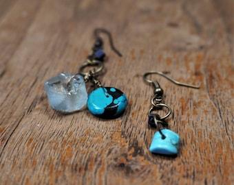 Recycled Air Earrings