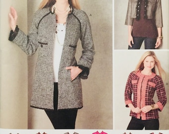 Simplicity 2149, Size 14-16-18-20-22, Misses' Jacket in Three Lengths Pattern, UNCUT, Unlined Jacket, Raglan Sleeves, Outerwear