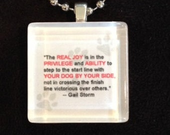 The Real Joy (Gail Storm) Pendant
