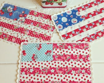 recreate/custom a sweet flag patchwork doily