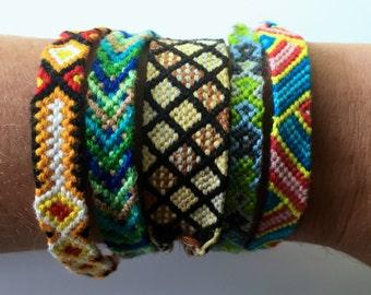 Friendship Bracelets, Customized Friendship Bracelet, String Bracelets, Chevron Friendship Bracelet, Cool Bracelets