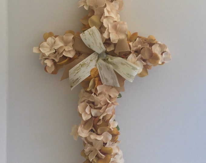 Cemetery cross, grave decoration, memorial cross, Floral Memorial, grave marker, in memory of, memorial flowers