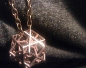 Escher Tri-cube Pendant