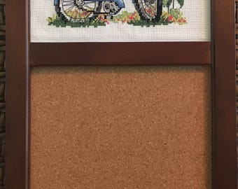 Cross Stitch Corkboard