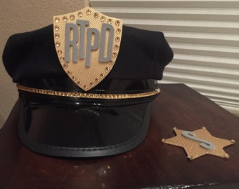 Police Panty/Stocking Anarchy Cosplay Badges