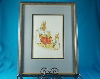 Beatrix Potter Nursery Art Print