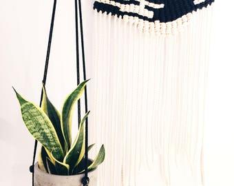 Modern |Adjustable| Macrame Plant Hanger