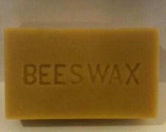 100% Raw Beeswax 1 lb. Block