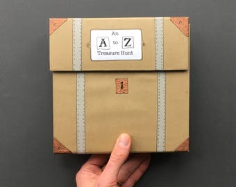 An A to Z Treasure Hunt - Artist Book