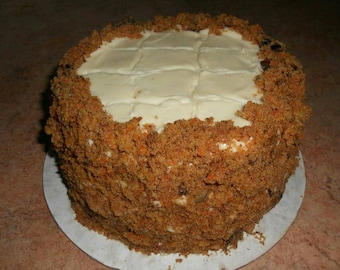 Inside out Carrot cake.