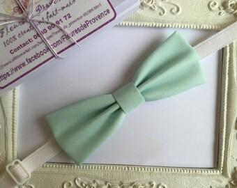 Bow tie elegant Mint green - man