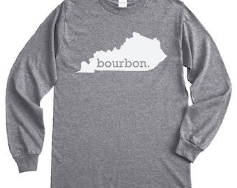 Homeland Tees Kentucky Bourbon Long Sleeve Shirt