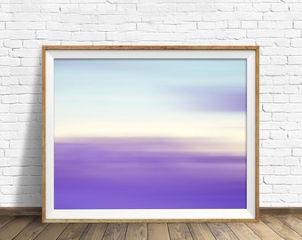 "landscape, landscape print, abstract, abstract art, pastels, large art, large wall art, instant download printable art - ""Landscape No. 2"""
