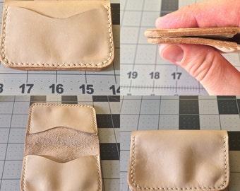 Three pocket wallet