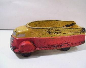 Antique Sun Rubber Co. Future Truck Hard Rubber Truck Toy