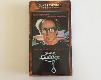 Pink Cadillac (VHS, 1997) Clint Eastwood