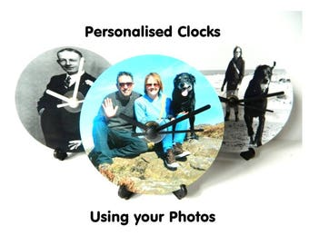 Personalised Photo Clock (Your Photo on a clock)